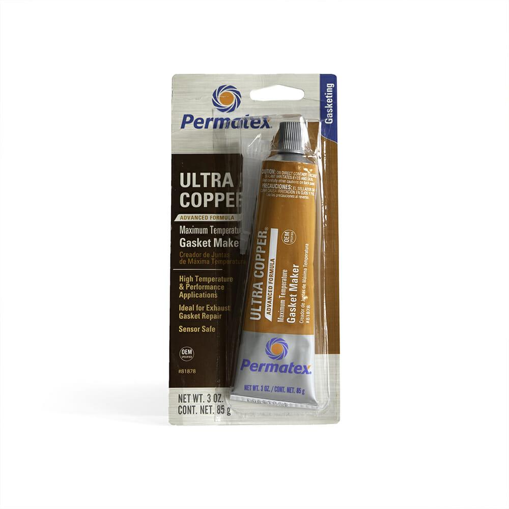 Permatex Ultra Copper Silicone Gasket Maker